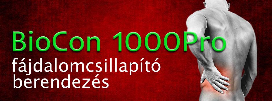 Biocon 1000Pro mágneses fájdalomcsillapító berendezés