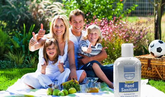 Hand Sanitizer víz nélküli kézmosó