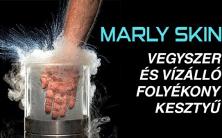 Marly Skin bőrvédő hab, a láthatatlan kesztyű